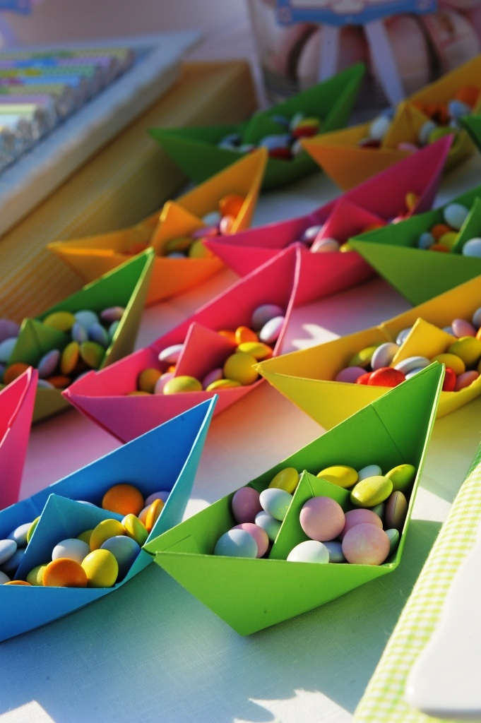 candy boats!