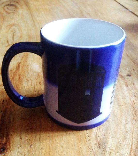 Colour Changing Heat Sensitive Doctor Who Tardis Mug by Hx5Designs, £11.99