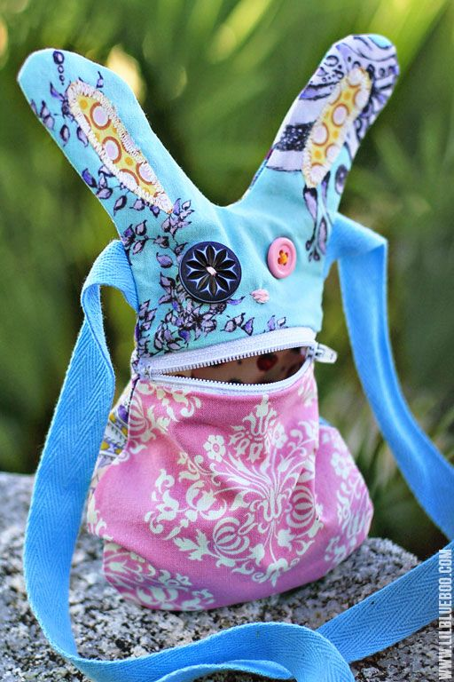 The Hungry Bunny Pattern Download and Tutorial | Lil Blue Boo