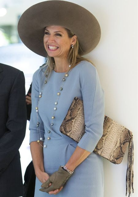 ♥•✿•QueenMaxima•✿•♥...September 22, 2015... Queen Maxima opens renovated 'Lieve Heer op Solder Museum'