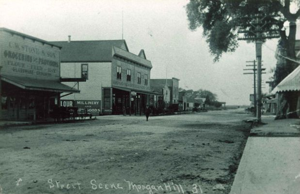 Image result for morgan hill history