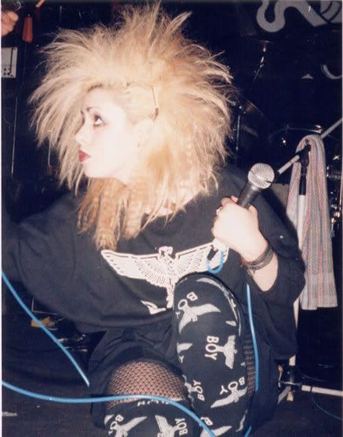 Punk Gurl Anne-Marie Hurst from Skeletal Family