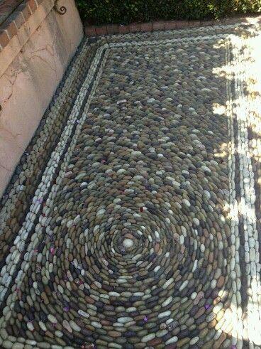Pebble mosaics                                                       …