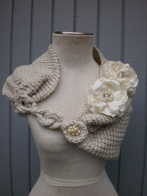 Pin for @Maya Goldweber - bridal wedding shrug Very Versatile Design Of Mine by deniz03