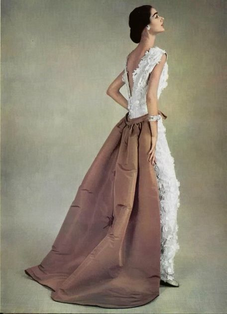 Balenciaga evening dress 1956