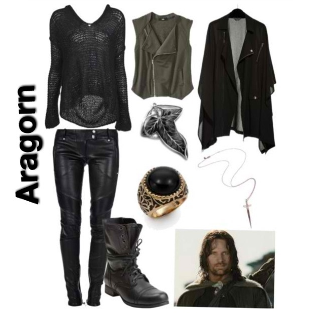 Lord Of The Rings Inspired Outfit Aragorn Lord Of The