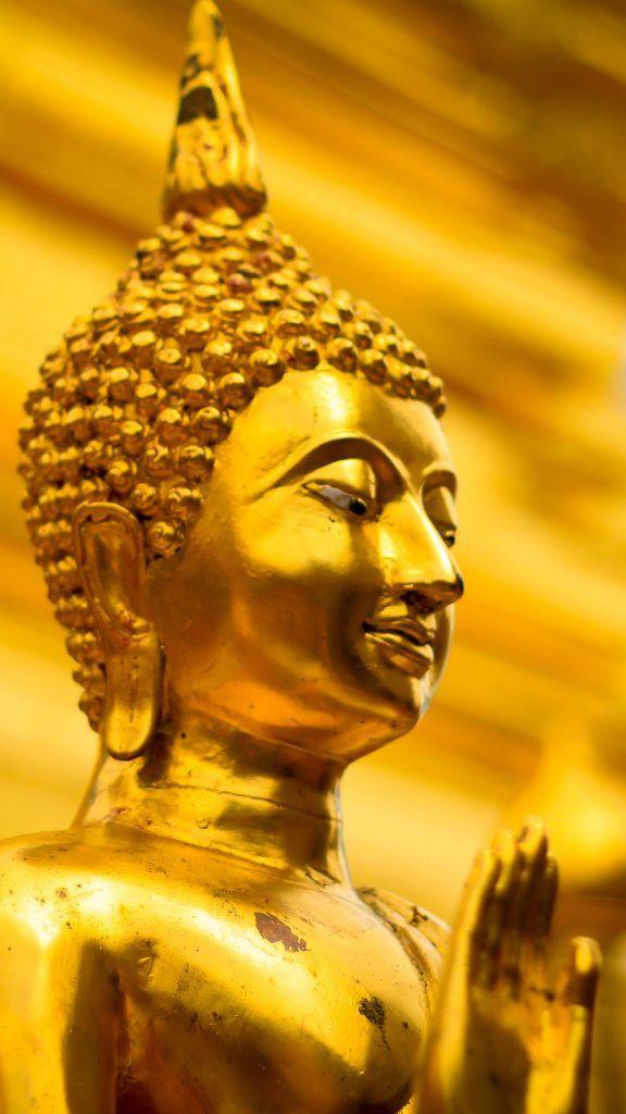 Golden Gautama Buddha Statue Thailand Buddha Gautama Buddha Statue
