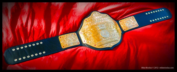 Big Gold World Heavyweight Championship - Already own it