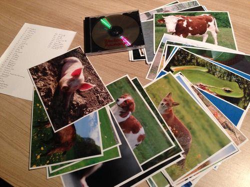 Voici mon dernier projet en date : l'imagier sonore (et en signes) des animaux. Trouvant le prix des imagiers des catalogues hors de prix et pas forcement de qualité, j'ai décidé de créer le miens....