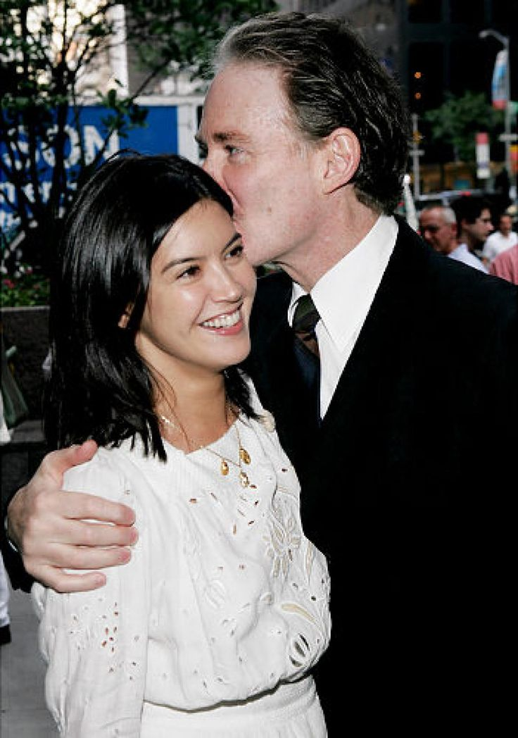 Phoebe Cates with her husband Kevin Kline