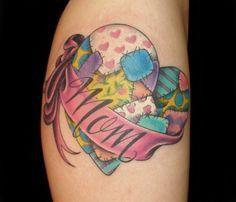 31 best Patchwork Rose Tattoo images on Pinterest | Heart tattoos ... : quilt heart tattoo - Adamdwight.com