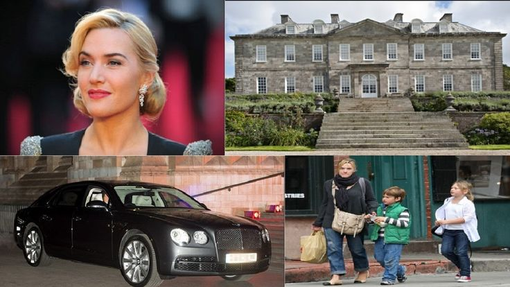 Kate Winslet's Biography  Net worth  Family  House  Cars -  2016.  Born Kate Elizabeth Winslet has an estimated net worth of $90 million. English actress Kate Winslet shot into international fame with her Oscar Nominated role as the adorable Rose in the 1997 iconic blockbuster Titanic. Winslet went on to prove her caliber with movies like the Eternal Sunshine of the Spotless Mind the period drama Finding Neverland the Revolutionary Road and romantic comedies like The Holiday. In 2008…