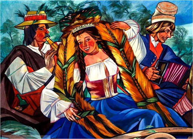 Zofia Stryjeńska was a Polish visual artist who was born in 1894.