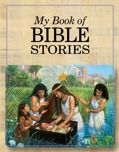 cover of My Book of Bible Stories - beautiful bible art