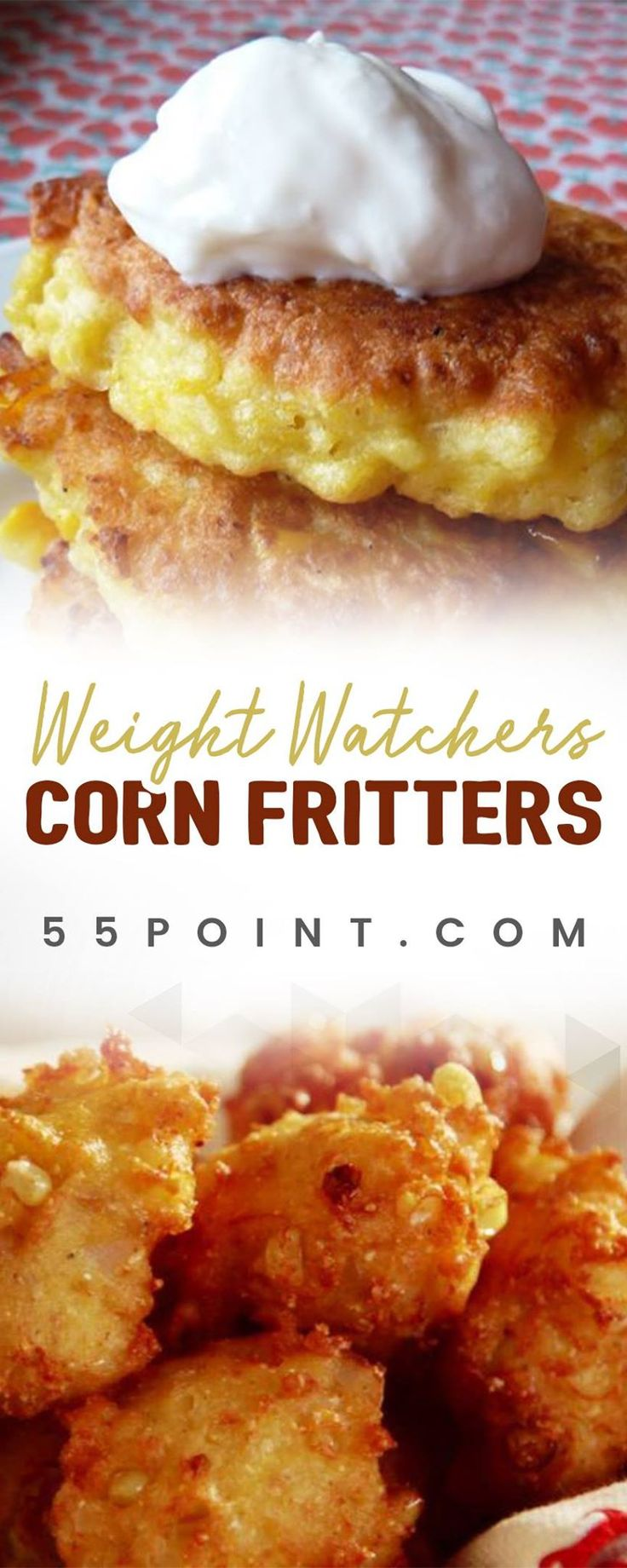 WEIGHT WATCHERS CORN FRITTERS