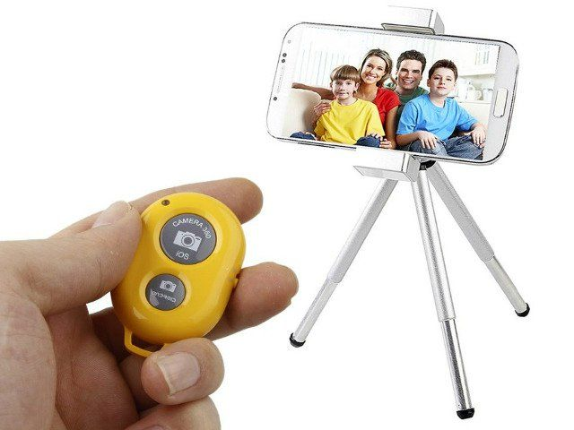 The Kootek Bluetooth Remote is the selfie addict's best friend. Now you can mount your camera on a tripod or a selfie stick and use this handy shutter remote for snapping your selfies. getdatgadget.com/getdatgadget-top-10-gadgets-july-2014/