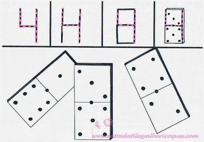 El 4: Fichas de dominó