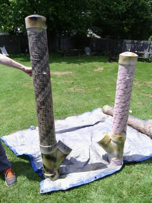 Les 25 meilleures id es de la cat gorie mangeoire cerf for How to build a deer feeder out of pvc pipe