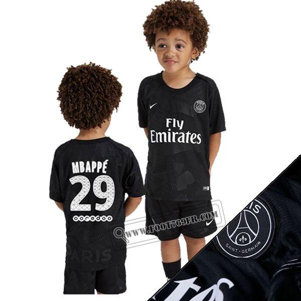 Short de foot Enfant Maillot Flocage Mbappé 2019