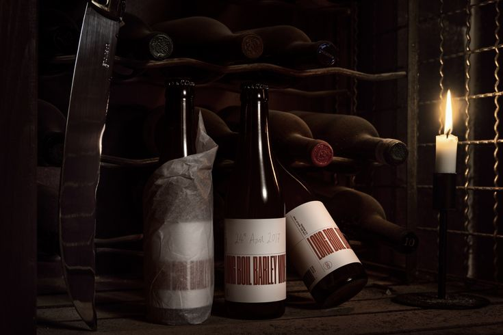 O/O Brewing Long Boil Barley Wine - Packaging & Art Direction