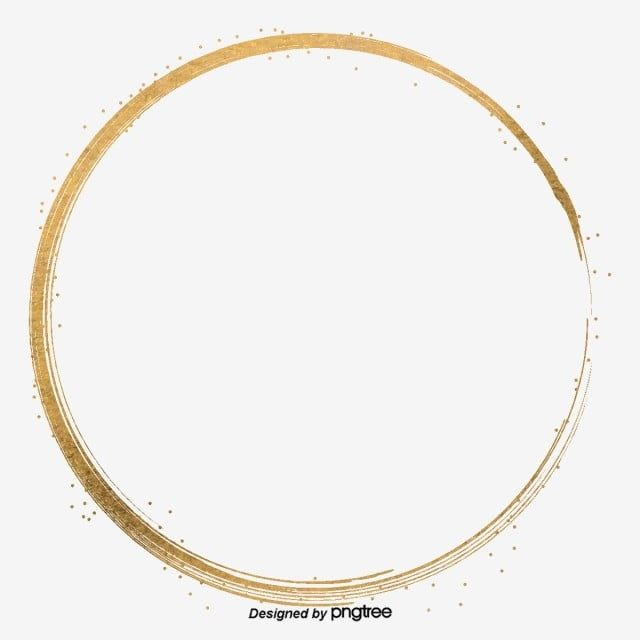 Golden Hand Metal Particle Circular Border Border Clipart Originality Circular Png Transparent Clipart Image And Psd File For Free Download Pink Bling Hand Clipart Picture Wreath