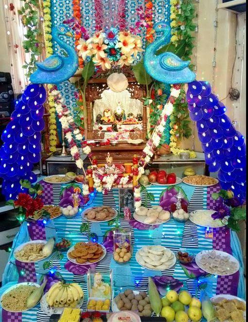 Decoration Ideas for Krishna Janmashtami | Decoration for ...