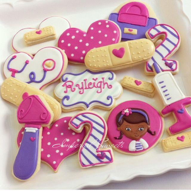 Disney Party Ideas: Doc McStuffins Party cookies!