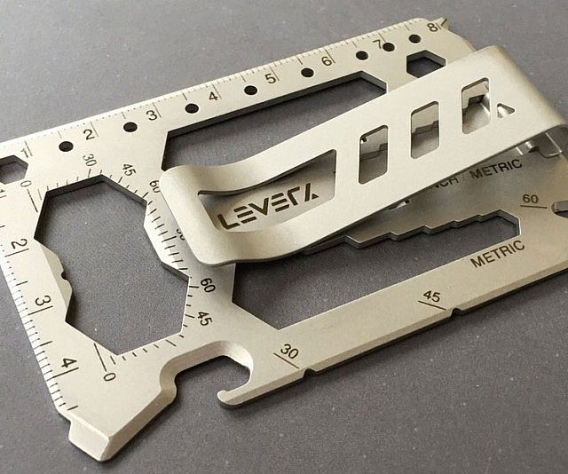 40-In-1 Multi-Tool Money Clip