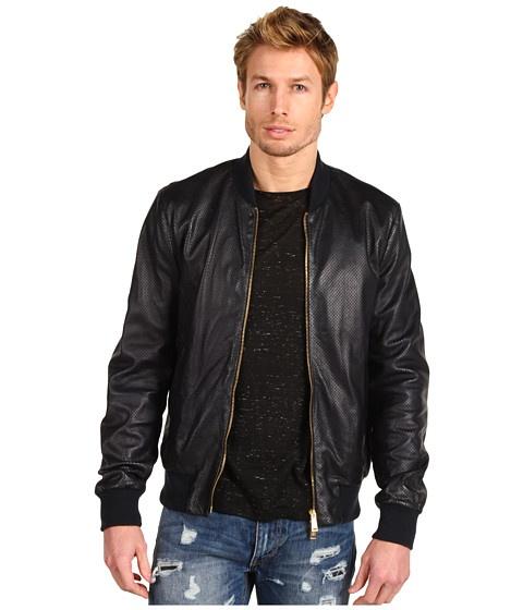 Dsquared2 Leather Bomber - Jachete - Imbracaminte - Barbati - Magazin Online Imbracaminte