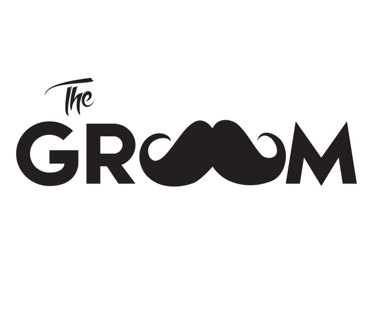 A simple design for a Bachelor Party Shirt utilizing a mustache!!