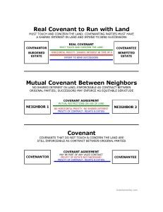 Real Property: Privity in Covenants | Bar Exam Study Materials