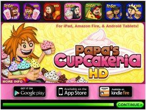 PAPA'S DONUTERIA 도넛츠 장사 플래시 게임