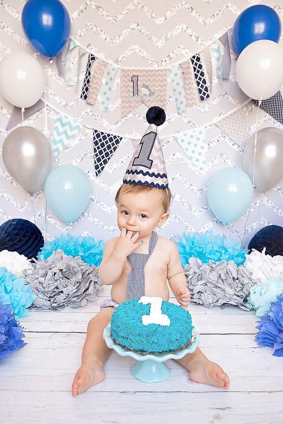 Boys First Birthday Shark OutfitBoys Cake Smash By TiptopKidsBaby