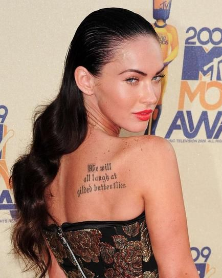 Celebrity Tattoos: You Guide To The Best and Worst | StyleCaster