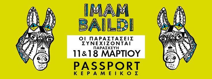 """Μετά άπο δύο κατάμεστες βραδιές στο PassPort Kεραμεικός, συνεχίζουμε με δύο τελευταίες Παρασκευές, στις 11 & 18 Μαρτίου.  Σας ευχαριστούμε όλους άπο καρδιάς. Επόμενες στάσεις (εκτός άπο την Αθήνα), Άγιος Νικόλαος, Ηράκλειο, Νάουσα, Πτολεμαΐδα. Προπώληση στο viva.gr και το 11876 και στα: Public, Seven Spots, βιβλιοπωλεία """"Ιανός"""", Media Markt και Reload. Σας περιμένουμε!"""