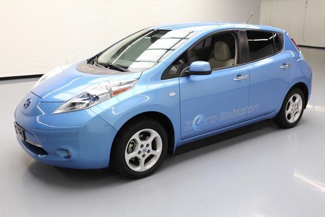 nice Awesome 2011 Nissan Leaf  2011 NISSAN LEAF SL ZERO EMISSION ELECTRIC NAV 49K MI #005767 Texas Direct Auto 2017 2018