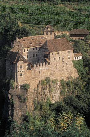 Castel Roncolo, Trentino, Italia.