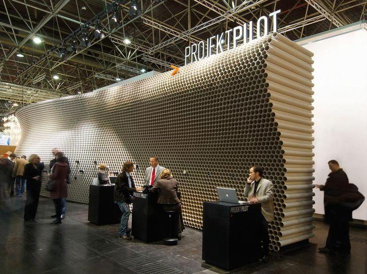 Trade Stands Hoys : Creative modern wall design books pinterest