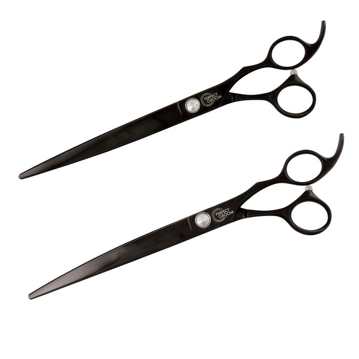 "Perfect Groom 8.5"" Shears (Curved/Straight Combo)"