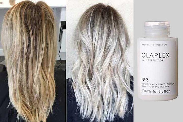 Olaplex μέσα στο ντεκαπάζ και τη βαφή για υγιή μαλλιά
