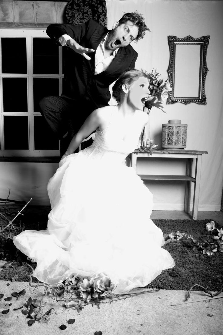 Hochzeit Liebe Aktion Kleid Rosenkrieg -Die Braut die sich nicht traut!-
