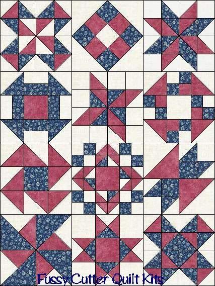 Best 25+ Sampler quilts ideas on Pinterest | Patchwork patterns ... : sampler quilt block patterns - Adamdwight.com