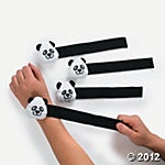 Panda Slap Bracelets. Great for Party!