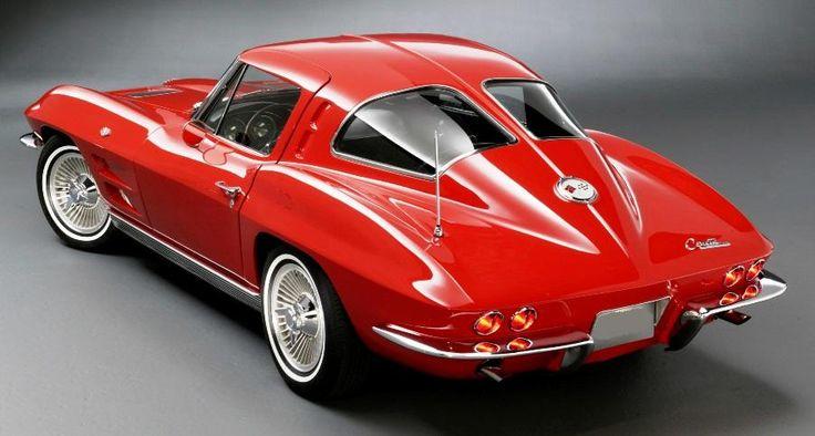 """1965 Corvette Split Window   Chevrolet Corvette Coupé """"Split Window"""" Modelljahr 1963 - Bild ..."""
