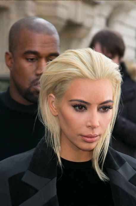 Kim Kardashian's New Hair Is The Most OMFG Thing You'll See Today