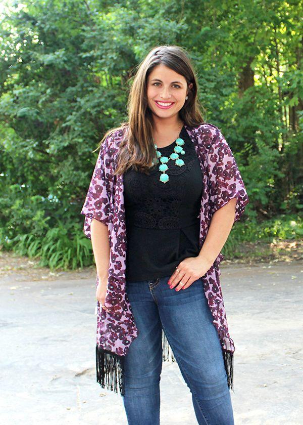 La Petite Fashionista: Lularoe Purple Kimono | La Petite ...