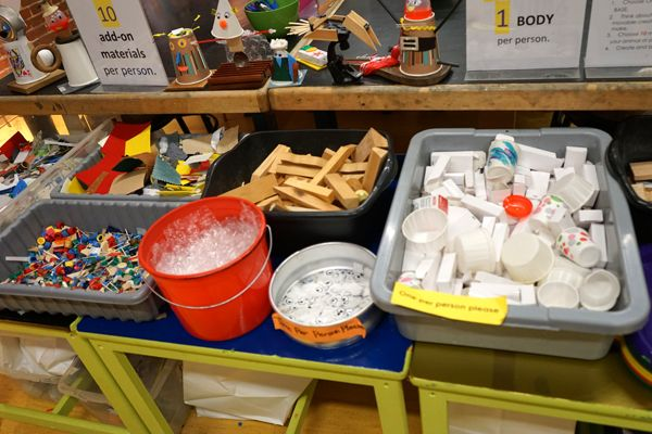 Pop-Up Recycle Shop at the Boston Children's Museum --- Fun program/maker space idea