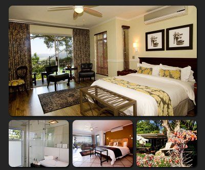 Luxury rooms offer queen sized beds with en-suite shower and private balconies