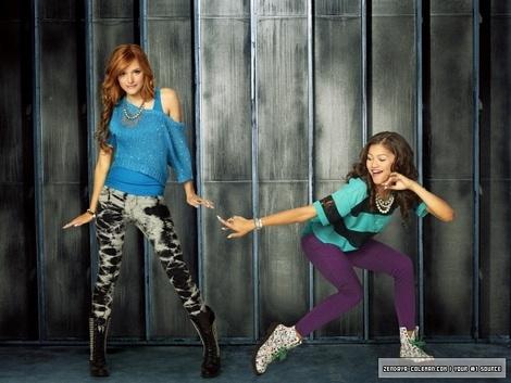 Zendaya and Bella!! BEST SISTER EVER!