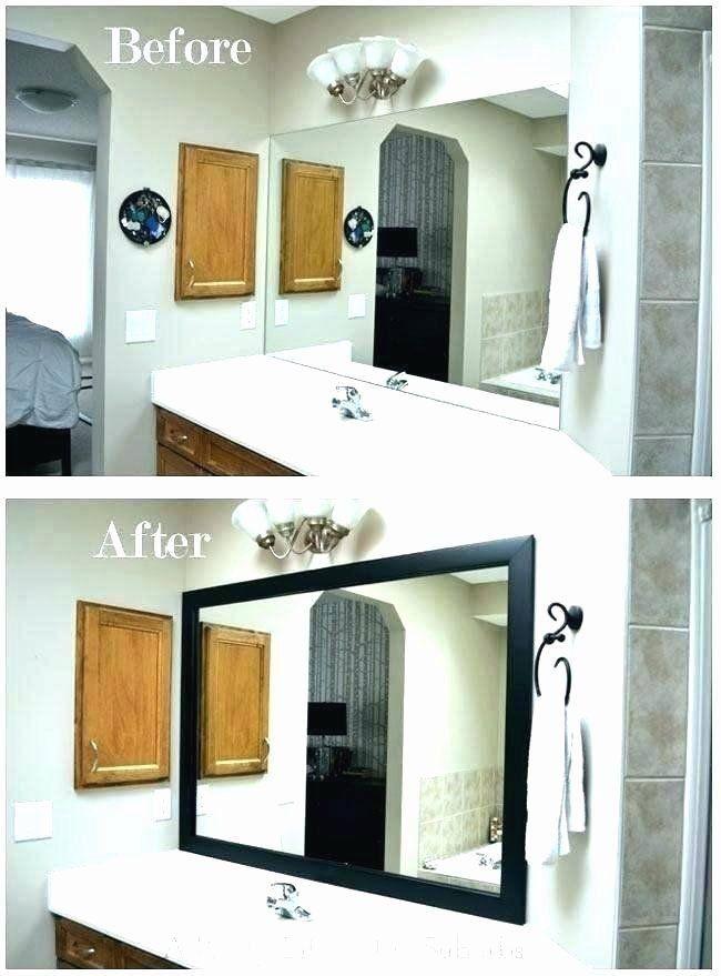 Bathroom Mirror Trim Kit Elegant Bathroom Mirror Kit Best Bathroom